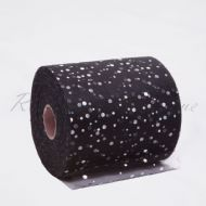 Black Sequin Tulle Roll